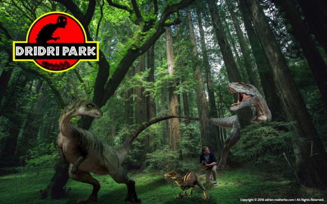 Jurassic Park inspiration