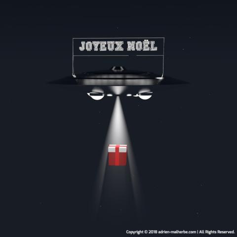 Christmas UFO