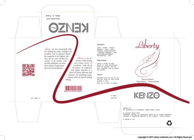 advertising creation Kenzo perfume