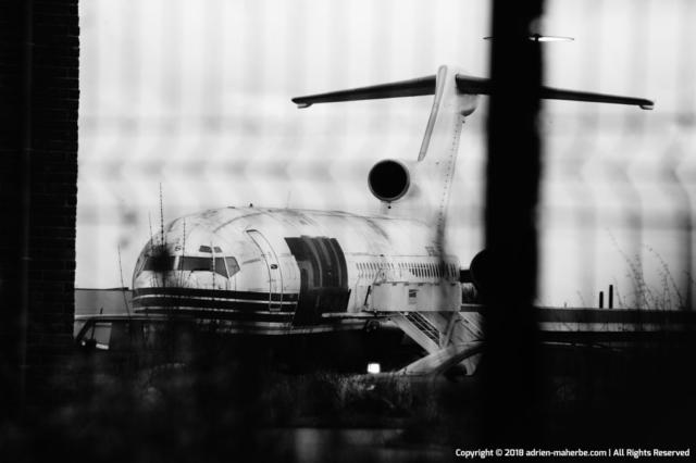 Plane on the ground