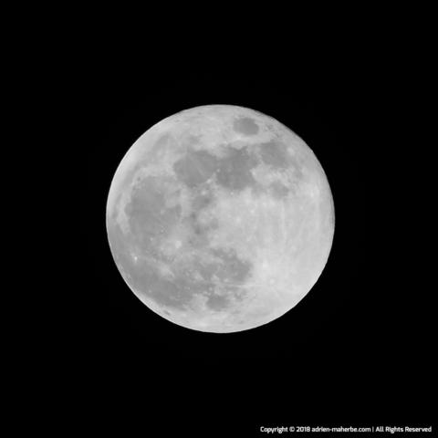 Super Blue Blood Moon (31/01/18)